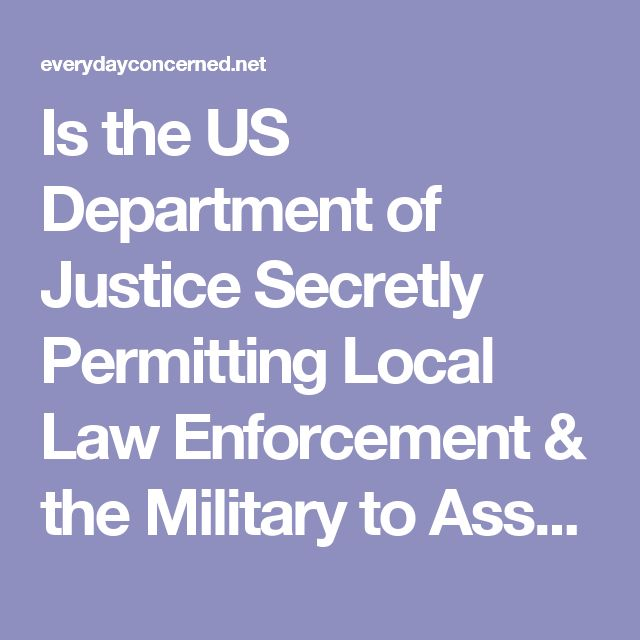 """Is the US Department of Justice Secretly Permitting Local Law Enforcement & the Military to Assault American Citizens Using Covert Directed-Energy """"Non-Lethal"""" Weapons? – The EveryDay Concerned Citizen"""