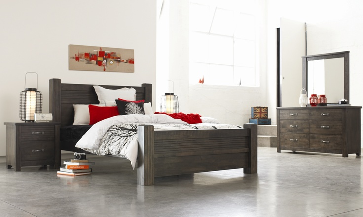 Chadwick bedroom furniture by john young furniture from harvey norman new zealand i love bed - Harvey norman bedroom sets ...