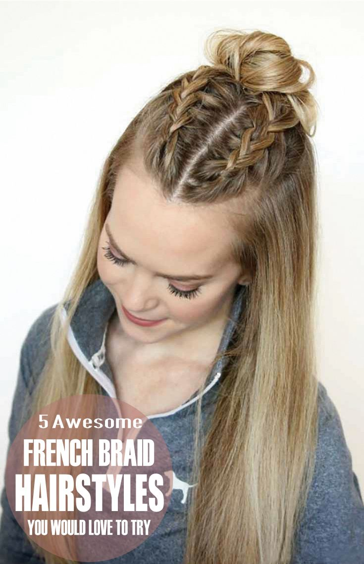 easy hairstyles by self #Easyhairstyles | Straight hairstyles, Braided hairstyles, Sporty hairstyles