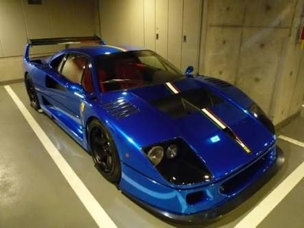 「FERRARI f40 blue」の画像検索結果