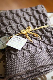 Sugarplums blanket by Danielle Chalson