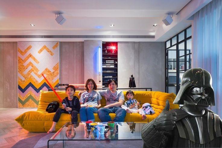 «Звездные Войны» в квартире http://faqindecor.com/ru/zvezdnye-vojny-v-kvartire/