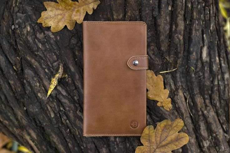 Leather wallet by Werf. Made from genuine leather. Hand made wallet. Travel wallet. Wallet for passport, cash, cards, passboarding and tickets. Long and slim wallet