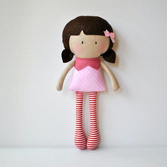 My Teeny Tiny Doll Rosy - Made to Order