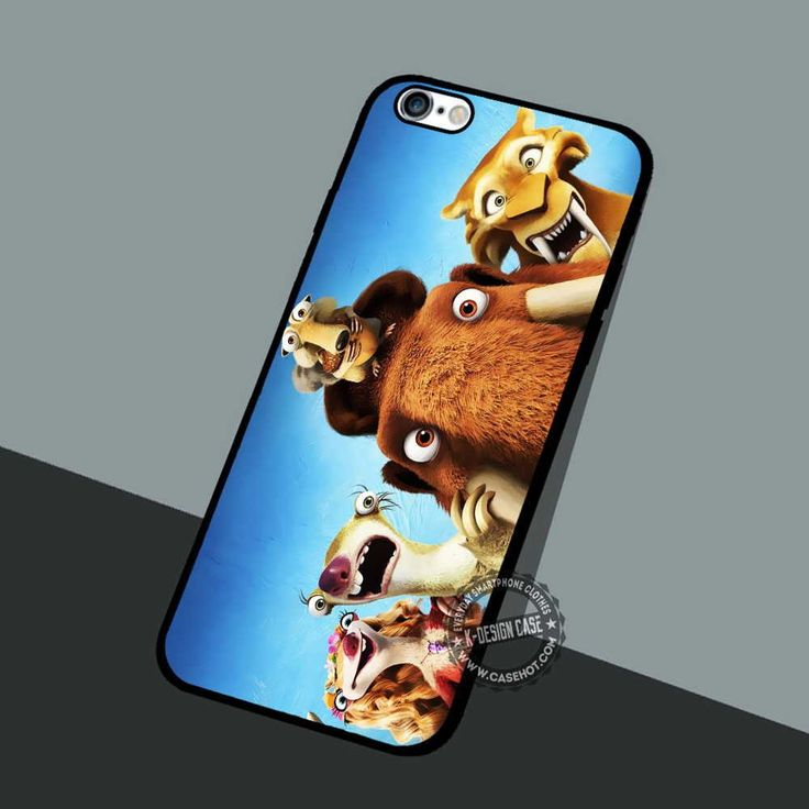 Ice Age Continetal - iPhone 7 6 5 SE Cases & Covers