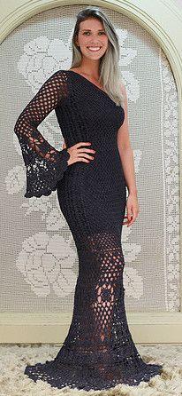 Carolina Portich crochet dress