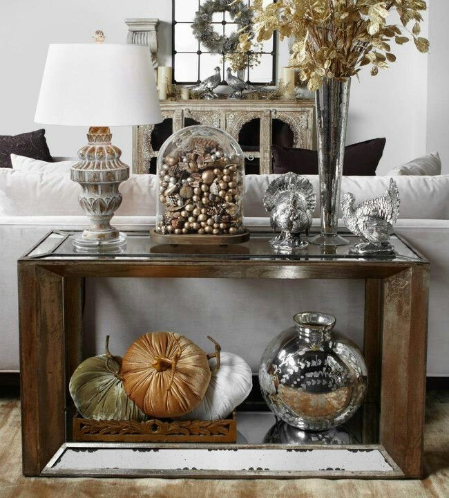 Glamorous Fall..z Gallerie · Mirrored FurnitureTable ...
