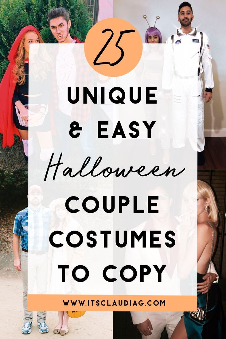 25 Easy & Unique Halloween Costume Ideas For Couples