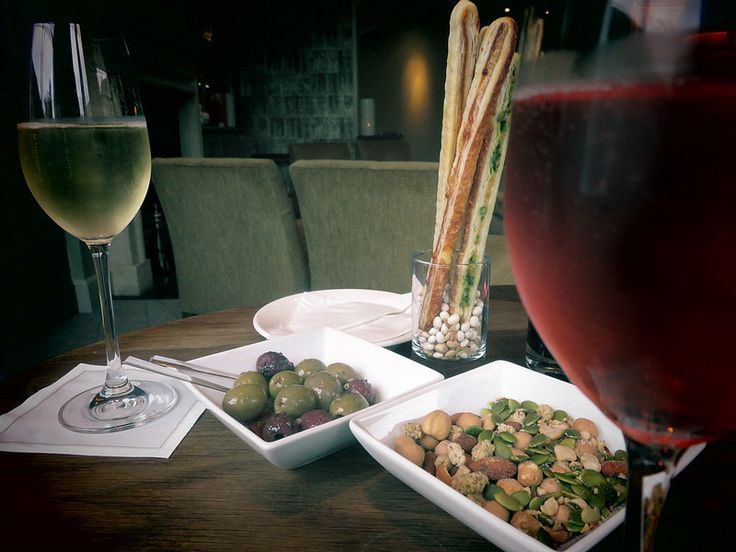 bar snacks with a difference at Vineyard hotel, spa and sommelier | by http://qosy.co