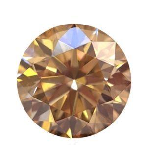 0.50 Karat Champagnerfarbener Diamant - SI1-SI2