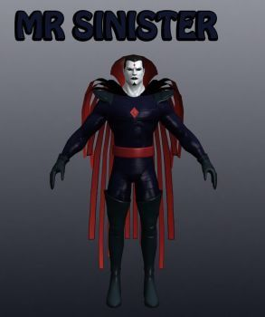 Mr Sinister Marvel Heroes XNALara by Xelandis