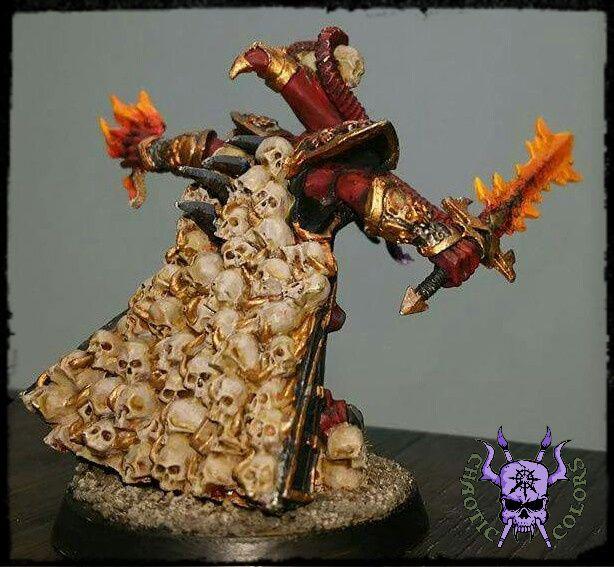 GW Warhammer Fantasy Battle-Tabletop-Miniaturen & -Geländebau-Artikel Skulltaker Rollenspiele & Tabletops Daemons of Khorne