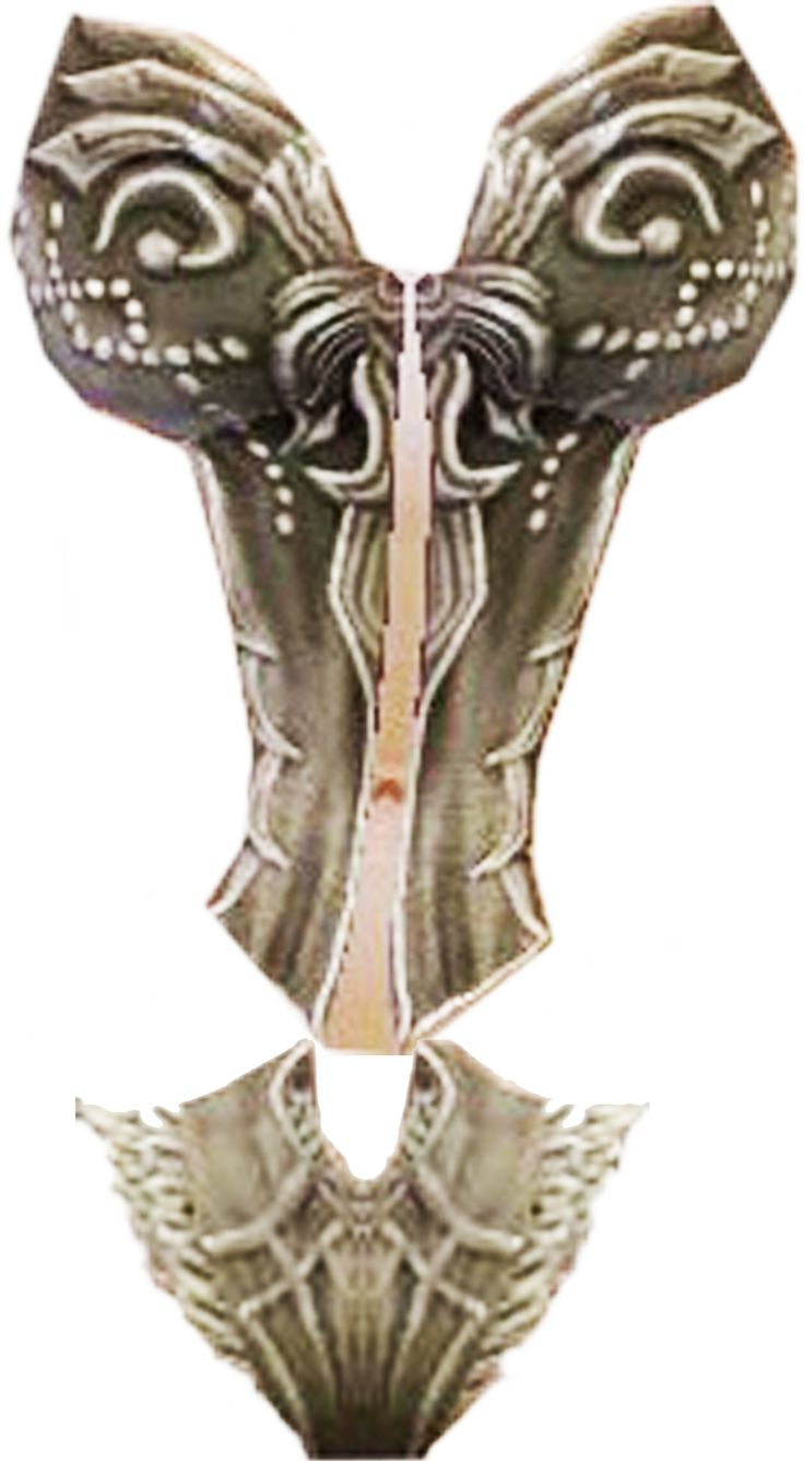 GW2 - Masquerade Armor bodice decoration pattern by ElisaCiocchettaFurFur