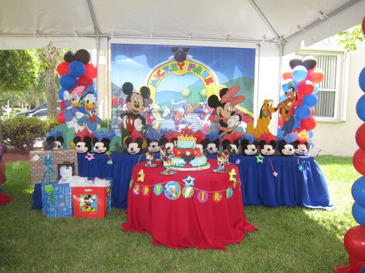 Mickey Mouse Decoraciones Infantiles ~   Parties, I Must Try, Mickey, Fiestas Decoraci?n, Places, Deco Parties