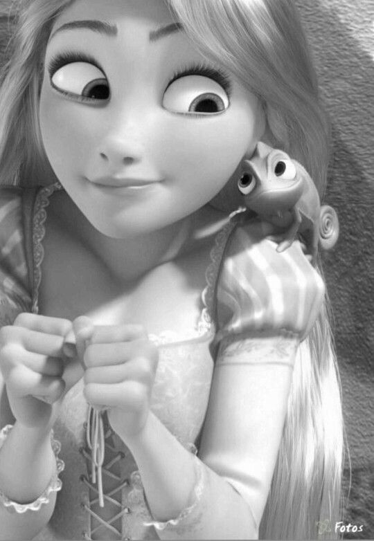 59 best Disney grayscale coloring