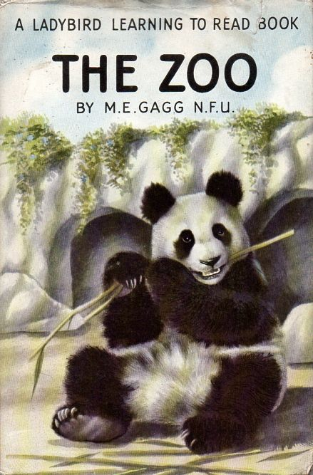 THE ZOO Vintage Ladybird Book Learning to Read Series 563 First Edition Dust Cover 1960