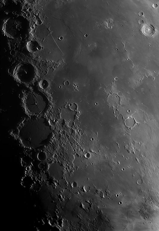 Massimo Miraglia: Luna - Ultimo quarto nell'infrarosso