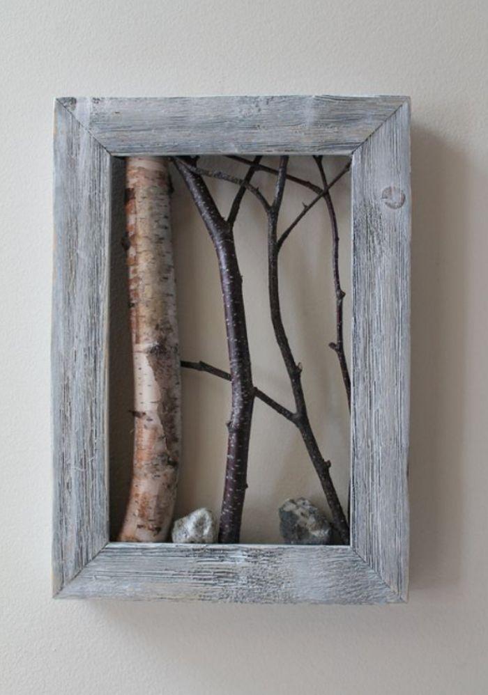 Картинки из веток деревьев своими