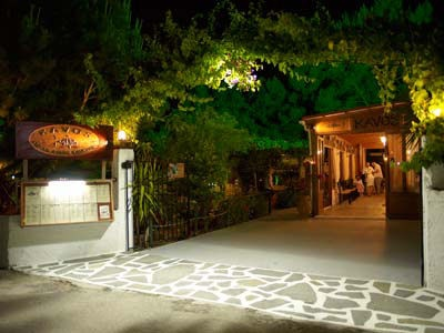 Kavos Bar, Pefkos, Rhodes - very Mamma Mia, very chic Greek!