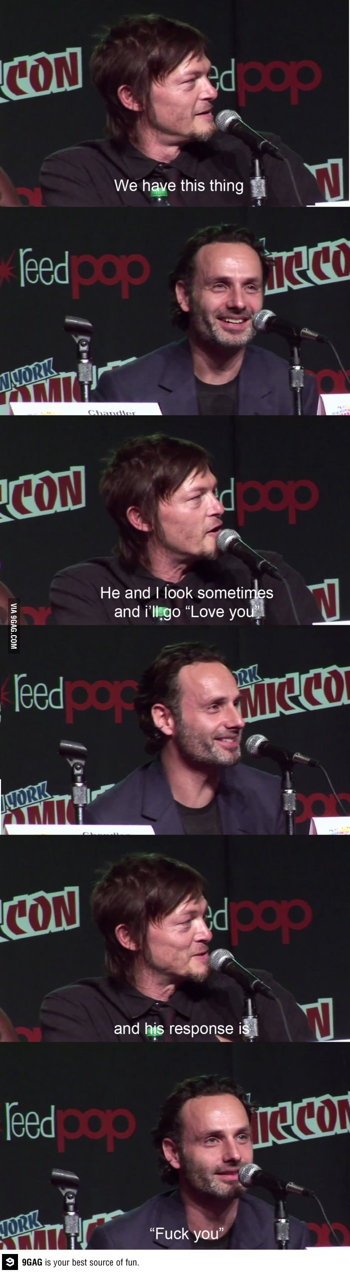 That thing...Norman and Andrew