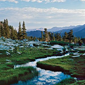 Sequoia: Mineral King is a hidden valley up at 7,500 feet reached by a winding 28-mile road. It's a trek, but you won't be sorry when you get there—Mineral King is gorgeous.