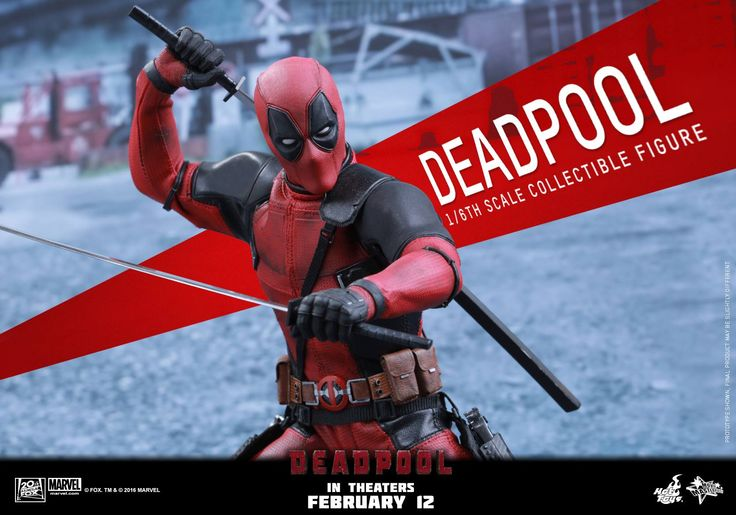 "deadpool MMS347 Deadpool - Deadpool ""Wait 'til you get a load of me."" Marvel's most unconventional superhero, Deadpool, will finally hit the silver screen in fu"