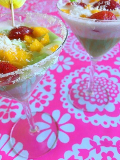 TOKOTEST! Dessert met 'Thai Custard Mix Pandan Flavour'