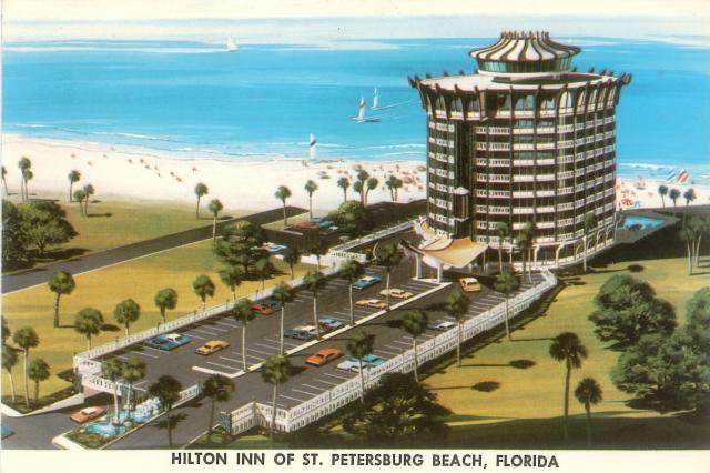 St Pete Rotating Restaurant Beach Pinterest