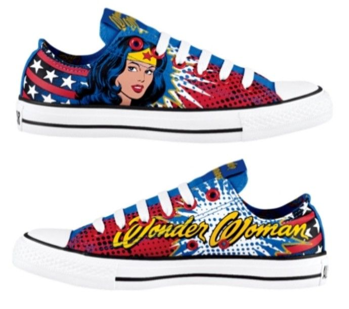 Wonder Woman converses