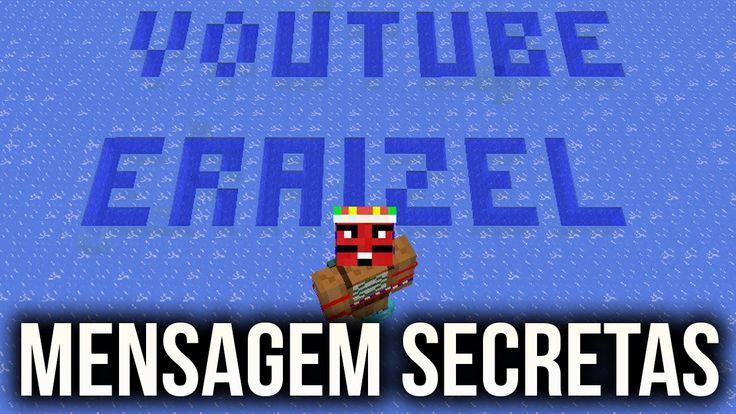 Minecraft 1.9 - COMO ESCONDER MENSAGENS SECRETAS NO GELO COM FROST WALK