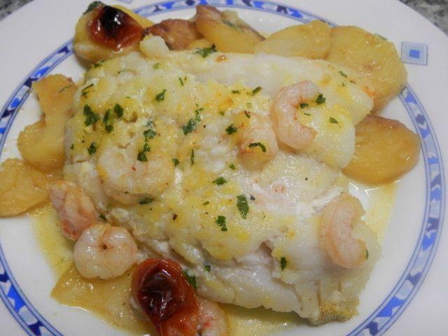 Filete de bacalao fresco al horno, podemos poner bacalao desalado si nos gusta más esta muy sabroso y es rápido de hacer.