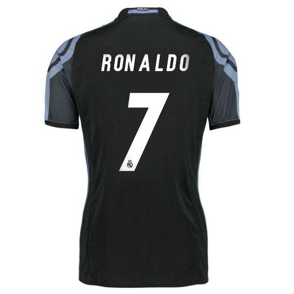 16 17 Cristiano Ronaldo Jersey Number 7 Third Women S Real Madrid Team Cristiano Ronaldo Jersey Ronaldo Jersey Real Madrid Shirt