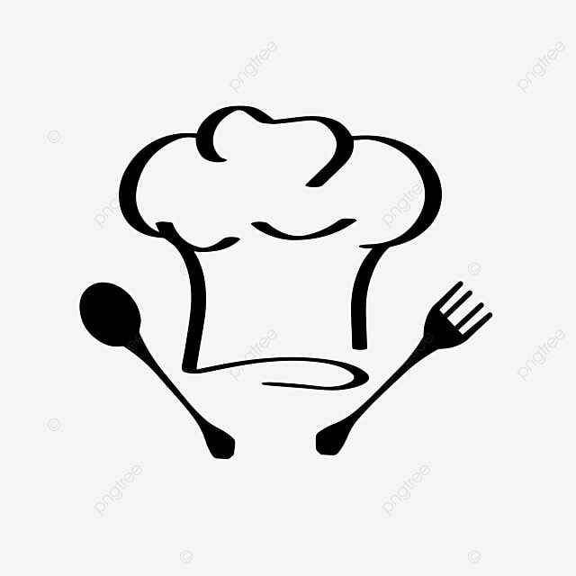 Vector Illustration Fork Spoon Chef Hat Restaurant Logo Chef Hat Clipart Chef Hat Restaurant Png And Vector With Transparent Background For Free Download Logo Restaurant Graphic Design Logo Logo Design Free
