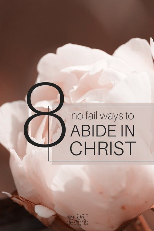 How to Abide in Christ His Mercies begin fresh each day   Faith   Abide   Christianity   Building Faith   Prayer   Jesus   Bible   MRSdesigns.net
