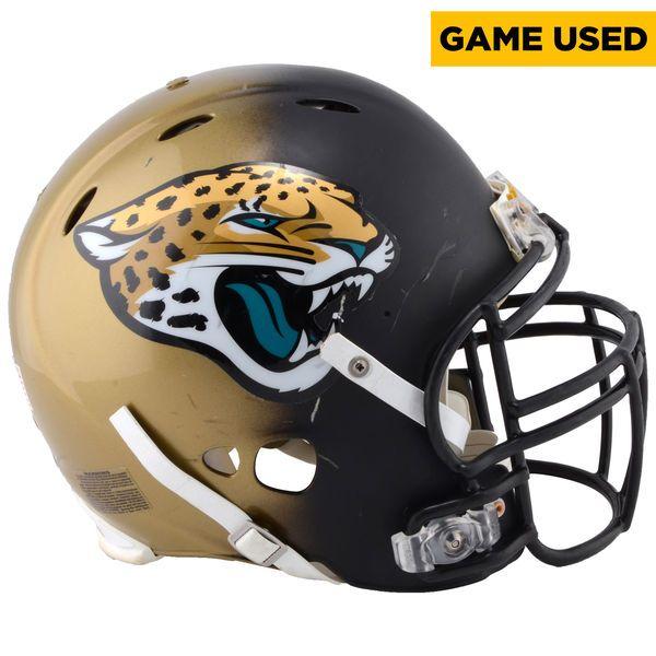 Sen'Derrick Marks Jacksonville Jaguars Fanatics Authentic Game-Used #99 Black and Gold Helmet From the 2016 NFL Season - $999.99