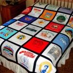 Basic T-Shirt Quilt Instructions..buy t shirts instead of junk on my big trips only problem is I buy to many..Alaska I bought 28 and didn't have room in my luggage coming home..