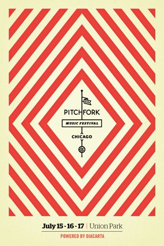 Pitchfork 2011 iPhone app - by Squnch the creators of Diacarta.