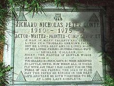 "The grave of actor Richard Conte gives his birth and death as ""1910 - 1975 - ?"" What that ? means is unexplained."