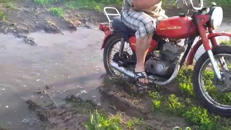 Это было очень давно. Убиваем мотоцикл. Минск.