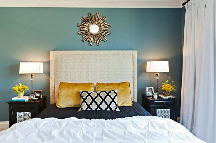 fabulous turquoise bedroom paint colors | 282 best Turquoise/White/Black Bedroom Ideas images on ...