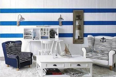 Illuminazione per pareti in stile marinaro