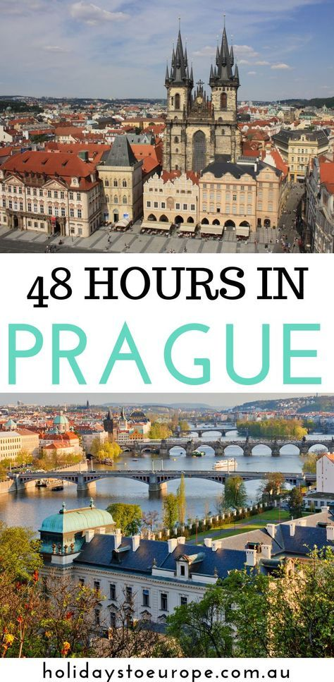 How one can spend 48 hours in Prague. Use this 48 hours in Prague itinerary for the p…