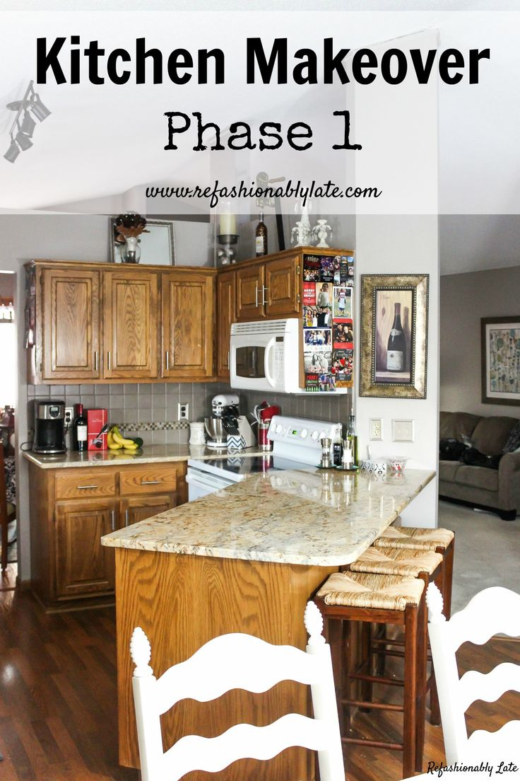 Kitchen Makeover Phase 1 Kitchens Diy Ideas And Diy House Ideas