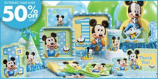 Image result for blue mickey mouse first birthday cake