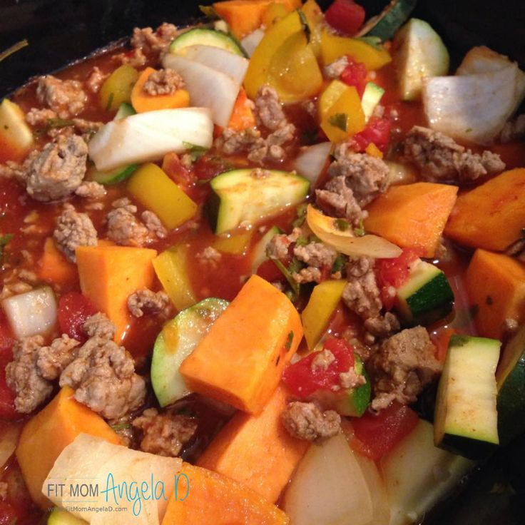 21 Day Fix Turkey Sweet Potato Chili