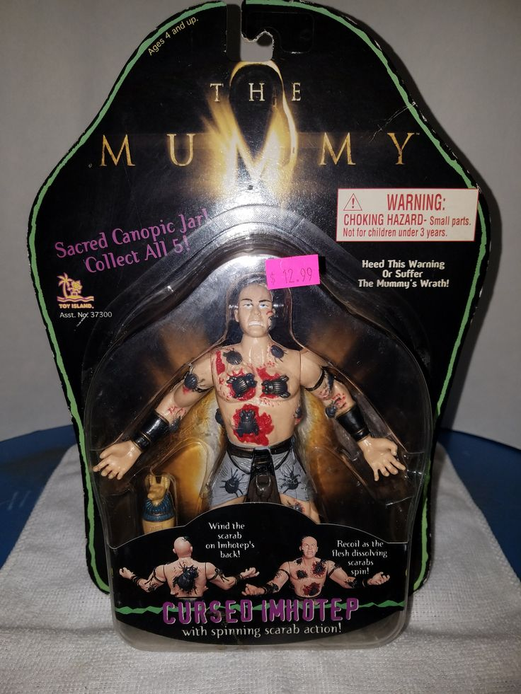 TOY ISLAND THE MUMMY, Cursed Imhotep