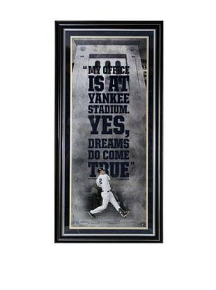 40% OFF Steiner Sports Memorabilia Derek Jeter 'Yankee Stadium is My Office' Framed Collage