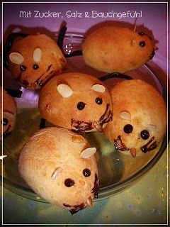 Quark-Öl-Teig-Mäuse