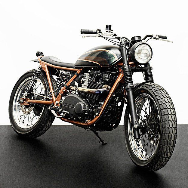 Love this Triumph cafe racer.