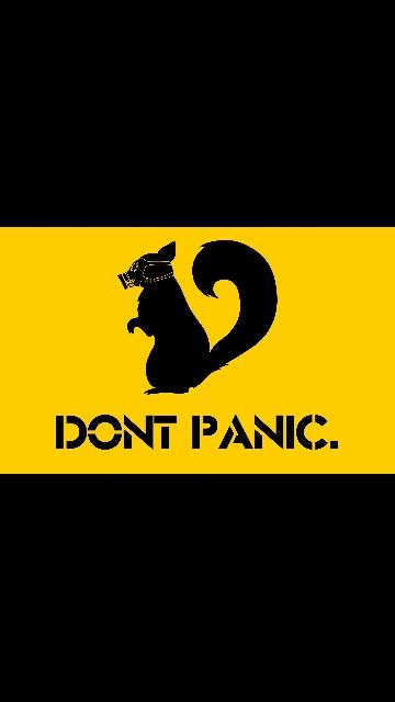 Squirrel Funny wallpapers, Survival blog, Don't panic